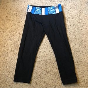 Lululemon reversible cropped leggings